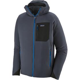 Patagonia R1 TechFace Capuchon Jas Heren, smolder blue